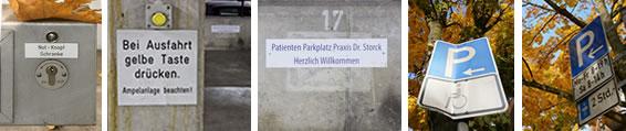 Praxis Dr. Storck Anfahrt/Parken